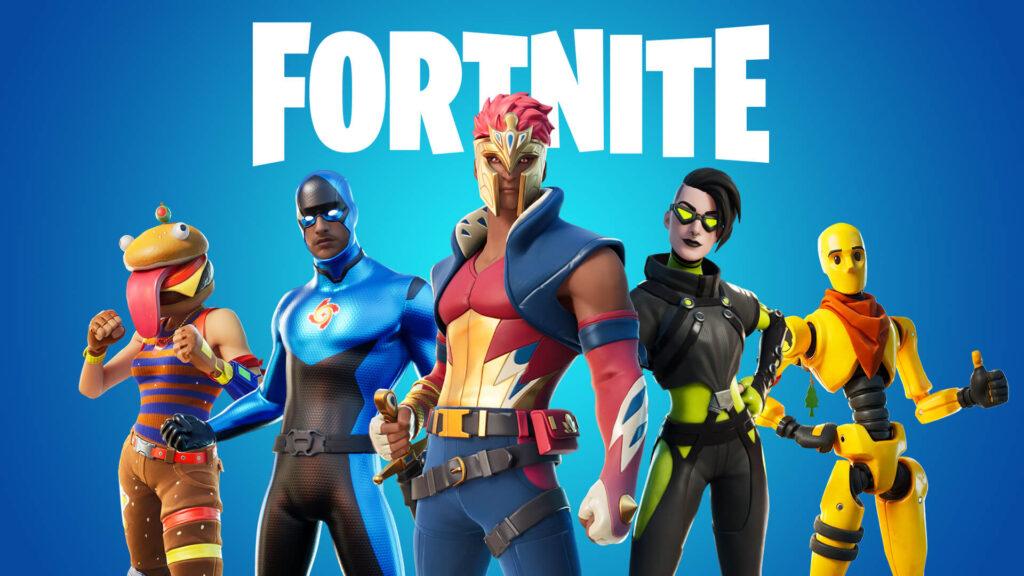 Fortnite players skin