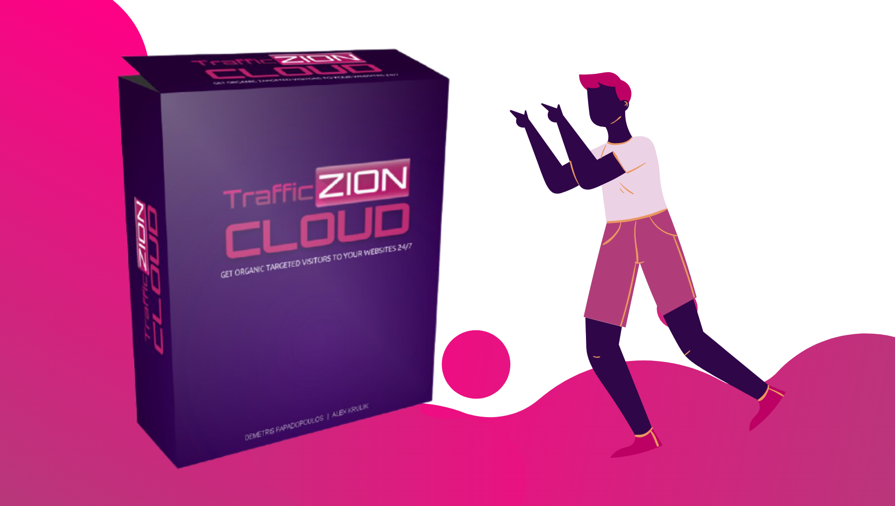 #TrafficZion Any Niche Targeted Traffic Increaser Software