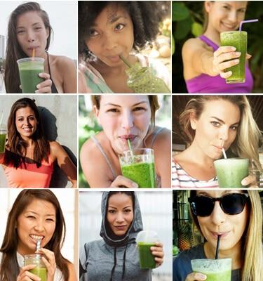 5 days free smoothie challenge Girls