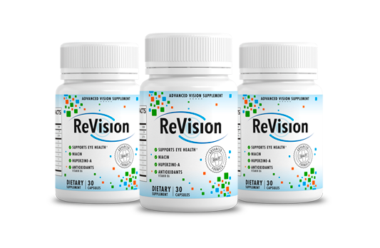 ReVision Advanced Eye Vision Supplement USA 2021